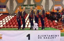L'Infantil i el Júnior del Club Gimnàstica Estètica Constantí es proclamen campions d'Espanya
