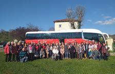 Un grup de creixellencs visita les ciutats agermanades de Vorey sur Arzon i Saint Vincent