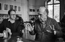 Trobada del club de lectura de l'ICAT amb el poeta Joan Margarit