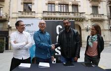 Los castellers de Vilafranca y la Vella de Valls alertan de que no han cedido sus derechos de imagen a nadie