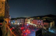 'Prades apaga els llums i encén els estels' omple el municipi d'amants de l'astronomia