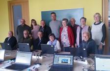 Finalitzen amb èxit de participació els cursos d'informàtica a l'Arboç