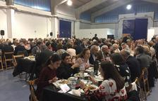 El Sopar Benèfic a favor del Telèfon de l'Amistat omple el Moll de Costa