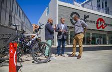 Ricomà: «Hace falta una red de carriles bici que conecte el centro y Poniente»