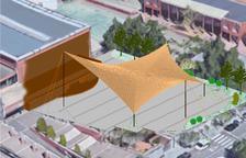 Una carpa permanent cobrirà els jardins del pavelló de la Pobla de Mafumet