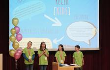 La URV acull més de 200 escolars de primària en el congrés Recerkids