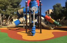 La nova zona de jocs infantils al Parc de les Escoles Velles de Constantí s'obre al públic