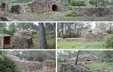 El Pla de Santa Maria empieza el inventario de los centenares de construcciones de piedra seca del término