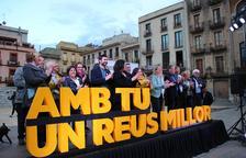 Més de 200 persones acompanyen Noemí Llauradó en el primer acte de campanya d'ERC Reus