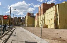 L'Incasòl enllesteix l'obra d'enderroc dels set edificis buits del Carme