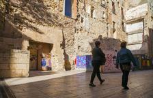 Las escaleras romanas de la Antiga Audiència serán visibles desde Ferrers