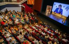 Puigdemont y Torra piden el voto para Dídac Nadal y para entrar en Europa