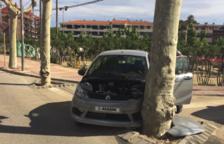 Detienen a un hombre que había huido después de estampar el coche que conducía contra un árbol