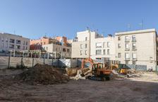 Reanudan las obras de construcción del hotel de cuatro estrellas del Pallol
