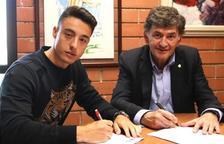 Pol Ballesteros vuelve al Nàstic y amplía el contrato por dos años