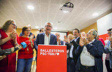 A Tarragona Ballesteros (PSC) guanya en vots però Ricomà (ERC) iguala els set regidors