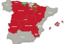 El PSOE puja en totes les comunitats però només en té assegurades cinc