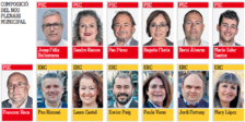 El plenari de Tarragona incorpora tretze noves cares, la meitat dels 27 regidors