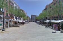 La Guardia Urbana de Tarragona hace retirar 87 mesas irregulares de la plaza de la Font