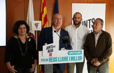 Pellicer aposta per revalidar l'entesa amb ERC i Ara Reus