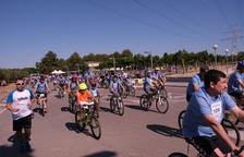 La Bicicletada Popular dona el tret de sortida a la Festa Major de la Pobla