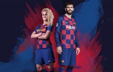 La nova samarreta del Barcelona canvia les ratlles per quadres