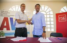 Kenneth Martínez (PSC) oficialitza el pacte amb l'AVP al Vendrell