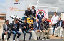 Repsol converteix el Passeig de Gràcia de Barcelona en un museu del motor