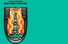 La Colla Castellera de Sant Pere i Sant Pau renova la seva imatge gràfica