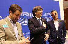 El Supremo levanta la suspensión como diputados del Parlament a Puigdemont y Comín