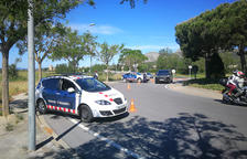 Detingut al Baix Penedès després de treure el 'cepo' que li havien posat al cotxe per anar begut i sense carnet