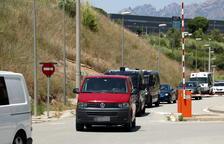 Els Mossos traslladen els polítics presos a Lledoners, Mas d'Enric i Puig de les Basses