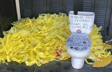 Detinguts set anti independentistes per fer actes vandàlics davant cases de Mossos i d'alcaldes