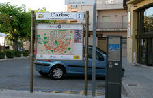 L'Arboç renova els seus panells turístics