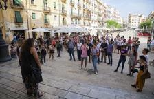 Manifestacions arreu del territori contra 'La Manada' de Manresa