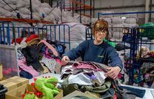 Humana recupera més de 4 tones de textil usat a la Bisbal del Penedès