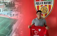 El porter Mohamed Lamkadem, nou jugador de la Pobla B