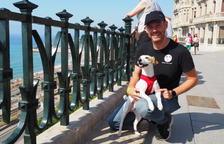 Pipper, el perro 'influencer' llega a Tarragona