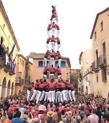 Tripleta rosada a la diada de les Cultures d'Altafulla