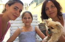 Una família del Vendrell acull a Kira, una nena que es recupera de la radiació de Txernòbil