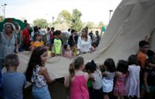 El barrio del Vilar de Valls tiene un nuevo parque infantil