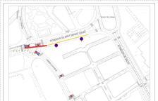 Afectaciones al tráfico en la avenida de Sant Bernat Calbó de Reus por obras