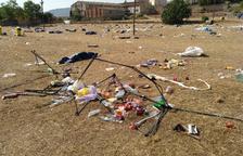 L'Acampada Jove de Montblanc, objecte de polèmica pels residus que genera