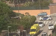 Traslladat en helicòpter a l'hospital un nen de dos anys a Segur de Calafell