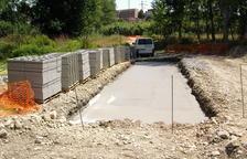 S'inicia la construcció de la passera sobre el riu Francolí a Constantí