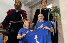 La Geganta protagonitza la samarreta de la Festa Major de Montblanc
