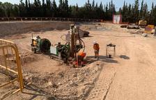 Constantí construeix el nou dipòsit d'aigua a la zona de Les Forques