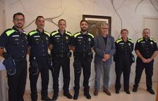 La Policia Local de Torredembarra incorpora quatre interins