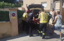 Rescaten un gos ferit que s'havia precipitat des d'un segon pis a Segur de Calafell