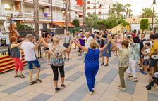 La Cobla Reus Jove inaugura la plaça Sant Jaume de Roda de Berà